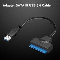 USB 3.0 / 2.0 / tipo C A 2.5 pulgadas de cable de disco duro SATA Cable de convertidor para 2.5 '' HDD / SSD1