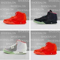 2020 Kanye West NRG 2.0 SP Red October Sports yeezy 2 Running  boost 2 Shoes Mens Sneakers Glow in the Dark Octobers Athletic Trainers des Platinum