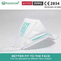 Kn95 mascarar Baoweikang estoque envio 9501 Inglês máscaras versão FFP2 orelha do gancho não-tecido adulto tecido certificação protecção CE rápido genuína