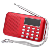 Radio Y-896 Mini FM Digital Portable 3W Stereo-Lautsprecher MP3-Audioplayer High Fidelity Klangqualität W / 2-Zoll-Display-Bildschirm