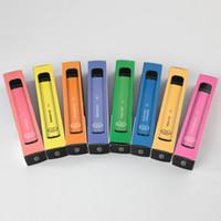 Jetable e cigarettes bouffées plus 800 bouffées de vaporisateur 550mAh Capacité de la batterie 2,8 ml avec un excellent prix PK Shisha stylo narguilé