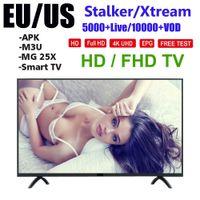 1000+ برامج التلفزيون LiveVod أوروبا الروبوت الذكية التلفزيون البث lxtream العربية الفرنسية إسبانيا usa كندا اللاتينات xtream إسرائيل MAG MXQ X96 مصغرة