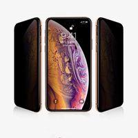 Protezioni per lo schermo del telefono Adatto per Apple 12 11Pro X XSMAX Diamond Anti-Peeping 6 7 8Plus Full Glass Glass Pellicole Temperato