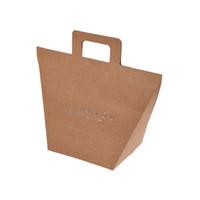 선물 포장 핸드백 핸드백 핸드백 크래프트 종이 기념품 가방 나비 갈색 향수 쥬얼리 가방 갈색 흰색 뜨거운 판매 0 72HB F2