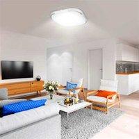 할인 85-265V LED 천장 조명 사각형 모양 조명 거실 침실 램프 스페이스 디밍 (18W) 고휘도 천장 조명