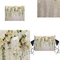 Photographie de mariage fond en tissu 3D coloré beau fleurs mur anniversaire draw portrait articles décoratifs nouvel arrivée 26hs l1