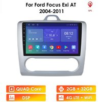 Lettore DVD per auto 2G + 32G Android 10 per Focus 2 2004-2011 Radio Multimedia Video Navigation GPS DIN DIN