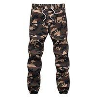 Pantalon pour hommes 2021 vêtements simples flottant de camouflage confortable jogging style de mode décontracté de style d'extérieur