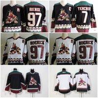 Arizona Hockey Jerseys Coyotes 19 Shane DOAN 23 OLIVER EKMAN-LASSON 97 Jeremy Roenick 7 Keith Tkachuk Classicsic Maillots cousus