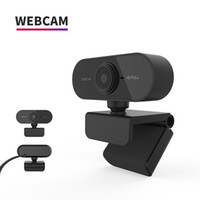 1080P HD 웹캠 포함 마이크 회전식 PC 데스크탑 웹 카메라 캠 미니 컴퓨터 웹 카메라 캠 비디오 녹화 작업