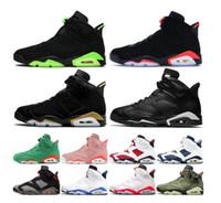 2020 jumpman vendiendo las mujeres de los zapatos de baloncesto del mens 6s liebre 6 satinadoJordánRetro cromo tecnología quai 54 zapatillas de deporte al aire libre