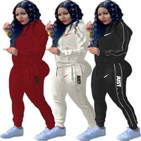 Brand Designer Women Jacket Suits Tracksuits Hoodies+ Pants 2...