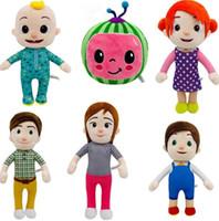 Natale nuovo anno ragazza ragazza cocomelon peluche giocattoli xmas kid bambole morbide bambole farcite giocattoli giocattoli del fumetto regalo del giocattolo FY7339
