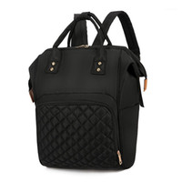 2020 NEW Fashion Diaper Bag Mommy Backpack Pure Color Mommy ...