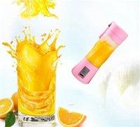 Multi función exprimidores portátiles gadget de cocina verdura fruta mini jugo mezclando tazas usb carga licuadora eléctrica caliente venta 17 7jh f2