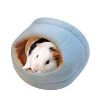 Großhandel neue schöne Ratten Hamster Winter warmes Fleece hängende Käfig Hängematte Nettes Haus mit Bettmatte für kleine Pelz Qylfgq Packing2010