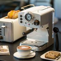 15 bar Espresso Coffee Machine Criador vapor italiano leite tipo espuma 2 e 1 alças fácil de usar