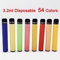 Plus Einweggerät VAE-Stifte 3.2ML-Pods 550mAh-Batterie-Starter-Kits Ecigs 54 Farben Verdampfer-Stifte mit Verpackungsbox leer
