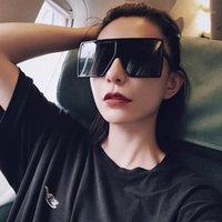 Güneş Gözlüğü Outmix 2021 Moda Kare Kadınlar Marka Tasarımcısı Retro Çerçeve Büyük Güneş Gözlükleri Vintage Erkek óculos Feminino1