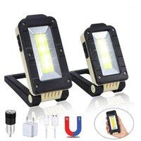 القابلة لإعادة الشحن قوة البنك USB المحمولة البوليفيين أدى ضوء العمل 180 درجة قابل للتعديل أسفل المغناطيس أدى ضوء LED.1