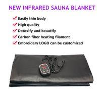 Hochwertige Far Infrared Sauna Decke Thermodecke Slimming Body Wrap Portable Saunadecke Tasche FIR abnehmen Maschine