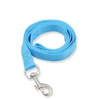 Simple del color del caramelo perro gancho de correa de nylon perro de paseo Correas de adiestramiento de mascotas perros y los suministros de arena nueva