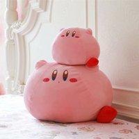 Novo Jogo Kirby Adventure Kirby Pelúcia Brinquedo Macio Boneca Grandes Animais de Prefeito Brinquedos para Crianças Presente de Aniversário Decoração Home 201204