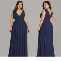 Women's Plus size Dresses fashion Sleeveless v-neck Maxi Dresses Floor-Length dinner party skin-tight ball gown bridesmaid Evening dres