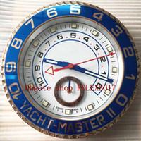 8style wall reloj 116680 116681 116688 34 cm x 5 cm 2 kg de acero inoxidable cronógrafo de cuarzo azul luminiscente azul luminiscente reloj de decoración