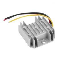 Estabilizadores Impermeable DC / DC Voltage Converter Regulator 24V a paso a 12V 5A Adaptor1
