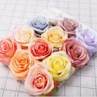 Симулятор одинокая роза цветок девушка друг роза подарок шелковая ткань валентинка день роза свадьба невеста, держа цветок букеты декор KKB4093