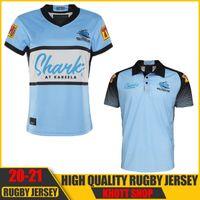 2020 2021 Cronulla-Sutherland Sharks Rugby Jersey 20 21 Jersey indígena Nrl Rugby League Jerseys Austrália Shark Maillot de Rugby