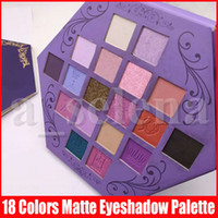 خمس نجوم العين ماكياج عينيه الظل لوحة الدم شهوة العين 18 الألوان البنفسجي فنية العين ظلال لوحة
