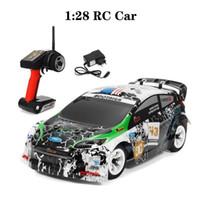 WLTOYS K989 1:28 RC Car 2.4G 4WD Motor cepillado Voiture Telecommande 30km / H Alta velocidad RT RC Drift Aleación de automóvil Control Remoto 201201