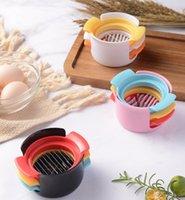 3 في 1 البيض القاطع المقاوم للصدأ البيض دليل البيض المسلوق قسم القاطع متعدد الوظائف البيض القطاعة أدوات المطبخ أدوات الملحقات YL1069