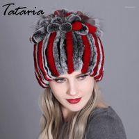 Berretto / cranio tappi tataria donna cappello di pelliccia per inverno rex cap caldo morbido cappelli reali Berryies Cap1
