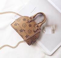 Bambini carini borsette Piccoli regali adolescenti borse da borse di stampa della stampa di modo coreano mini borsa a tracolla in pelle con coperture in pelle spedizione gratuita
