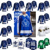 Toronto Maple Leafs 2021 Reverse Retro Jerseys de Hóquei 97 Joe Thornton Auston Matthews John Tavares Mitchell Marner Frederik Andersen