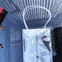 Presente Embalagem de Pacotes de Plástico Mini Espessamento Espessamento Durável Bolsa de Vinho Vinho Resistente Mancha Transparente Sacos Compactos Venda Quente 2 8QB F2