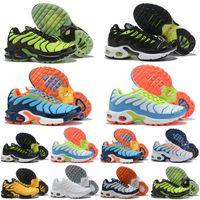 TN Plus TN 2019 Çocuk Koşu Ayakkabıları tn enfant Nefes Yumuşak Spor Chaussures Erkek Kız Tns Artı Tasarımcı Sneakers Gençlik requin Eğitmenler Size28-35
