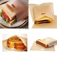 Patasinea riutilizzabile antiaderente Borse per tostapane Sandwich Patatine fritte di moda Nuove sacchetti multiuso resistenti al calore Cucina Accessori da cucina 109 K2