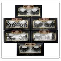 6D 25mm Eyelashes 100% Volume Natural Long Hair 3D Mink False Eyelashes Extension Fake Lash Makeup Mink Eyelashes Pack