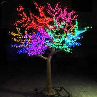 LED Cherry Blossom Tree Wedding Garden Holiday Light square ...