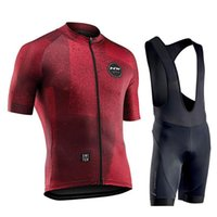 Northwave Summer Cycling Jersey Men Short Sleeve Set Maillot...