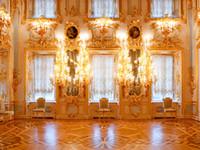 Çocuklar Studio Prop Altın İç Sarayı Düğün Vinil Fotoğrafçılık Arka planında Altın Avize Işıklar Yenidoğan Photo Booth Arka