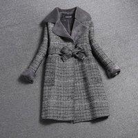 Muchacha de lana de las mujeres Liva Girl 2021 Mujeres Abrigo de invierno Larga Chaqueta gruesa Cosas Chaquetas de pieles elegantes Señoras Slim Abrigos de alta calidad