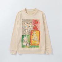 Alta Qualidade Mens Moda Vintage Moletons Homens Mulheres Outono inverno animal Imprimir Hoodie Terry Womens algodão camisola com capuz