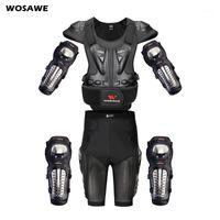 Wosawe MOTORCROSS Geri Koruyucu Paten Kar Vücut Motosiklet Omurga Guard Moto Ceket Kneepads Dirsek Guard Moto Armor1