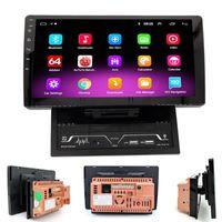 2 DIN Android 9.1 Lecteur multimédia de voiture 10inch Autoradio Stéréo Radio GPS Navigation Bluetooth vidéo WiFi Caméra DVR 2Din Pas de DVD voiture DVD DVD