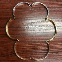 316L Titanium Steel Gold-plated Crystal Love Bracteled подходит для пар свадебный дизайн браслет украшения